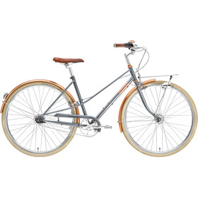 Creme Caferacer Doppio Trapeze 7-speed, gray rose